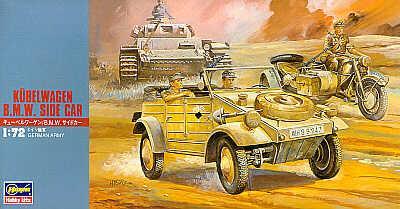 MT012 - Kubelwagen/BMW and sidecar 1/72