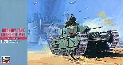 MT027 - Churchill Mk.I 1/72