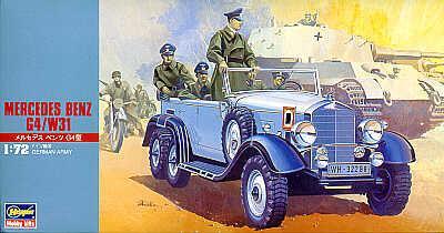 MT028 - Mercedes-Benz G4 Hitlers car 1/72