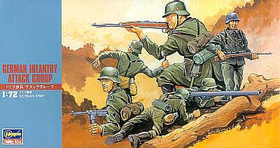 MT030 - German (WWII) Infantry 1/72