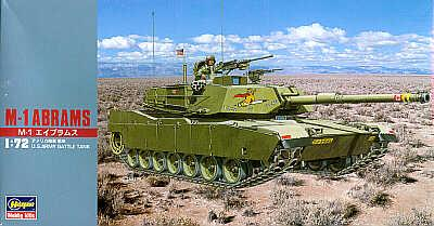 MT033 - M1 Abrams 1/72