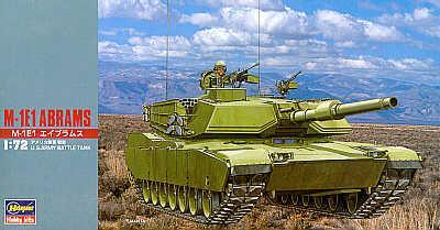 MT035 - M1E1 Abrams 1/72