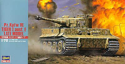 MT036 - Pz.Kpfw.VI Tiger I Ausf.E late model 1/72