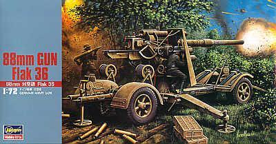 MT038 - 88mm Flak 36 1/72