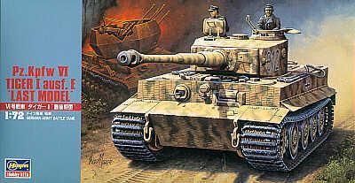 MT039 - Pz.Kpfw.VI Tiger I Ausf.E last 1/72