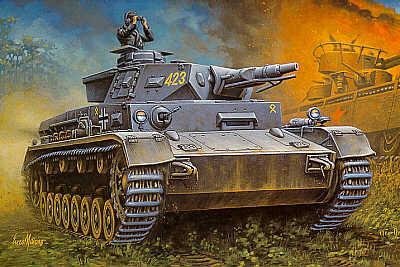 MT041 - Pz.Kpfw.IV Ausf.F1 1/72