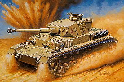 MT042 - Pz.Kpfw.IV Ausf.F2 1/72