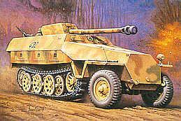 MT045 - German Sd.Kfz.251/22 Ausf.D Pakwagen 1/72