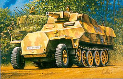 MT046 - German Sd.Kfz.251/9 'Stummel' 1/72