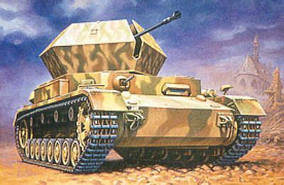 MT047 - Sd.Kfz.161/3 37mm Flak Pz.Kpfw.IV 'Ostwind 1/72