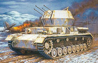 MT048 - Sd.Kfz.161/4 20cm Flak Pz.Kpfw.IV 'Wirbelwind' 1/72