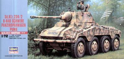 MT052 - German Sd.Kfz.234/2 'Puma' 1/72