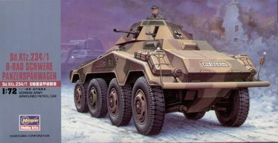 MT053 - German Sd.Kfz.234/1 8-Rad Schwere Panzerspahwagen 1/72