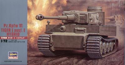 MT055 - Pz.Kpfw.VI Tiger I ausf. E 'Hybrid' 1/72