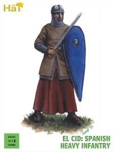 28001 - El Cid Spanish Heavy Infantry 28mm