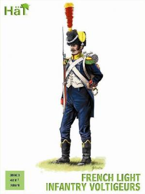 28003 - French Light Infantry Voltigeurs 28mm