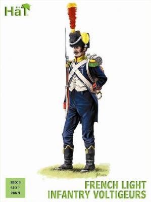 28003 - French Light Infantry Voltigeurs 28mm