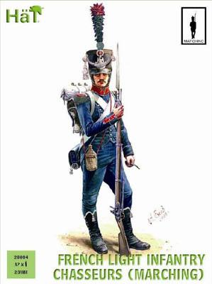 28004 - French Light Infantry Chasseurs Marching 28mm