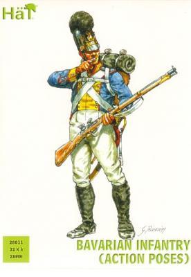 28011 - Bavarian Infantry (Action) 28mm