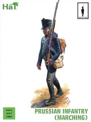 28013 - Prussian Infantry (Marching) 28mm