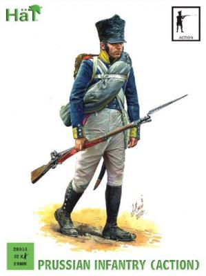 28014 - Prussian Infantry (Action) 28mm