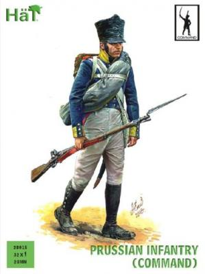 28015 - Prussian Infantry (Command) 28mm