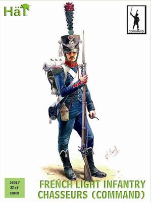 28017 - French Light Infantry Chasseurs, Command 28mm