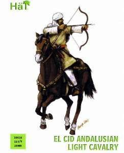 28018 - El Cid Andalusian Light Cavalry 28mm