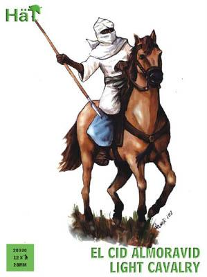 28020 - El Cid Almoravid Light Cavalry 28mm