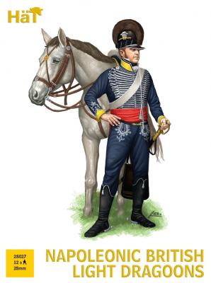 28027 - Napoleonic British Light Dragoons 28mm