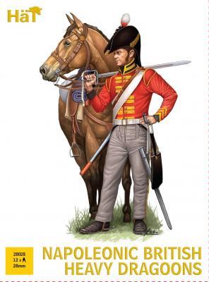 28028 - Napoleonic British Heavy Dragoons 28mm