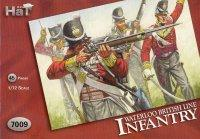 7009 - Infanterie anglaise Waterloo 1/72