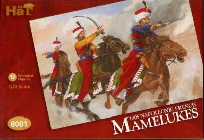 8001 - Mamelouks français 1805 1/72