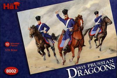 8002 - Napoleonic Prussian Dragoons 1/72