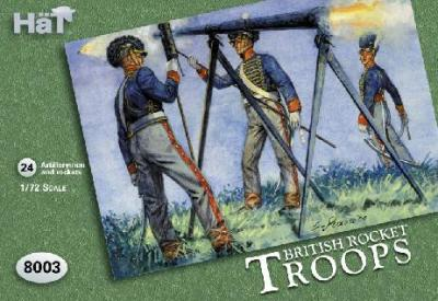 8003 - British Rocket Troops 1/72
