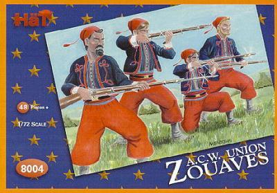8004 - Zouaves ACW 1/72