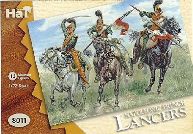8011 - Lanciers français 1/72