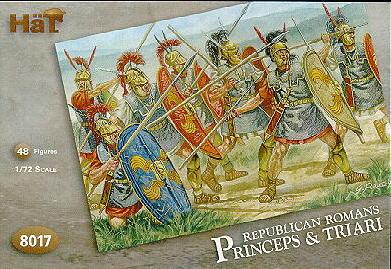 8017 - Republican Romans Princeps & Triari 1/72