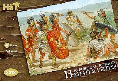 8018 - Republican Romans Hastati & Velites 1/72