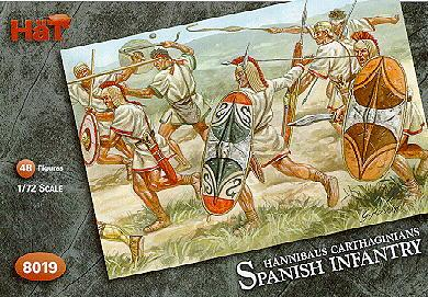 8019 - Infanterie espagnole d'Hannibal 1/72
