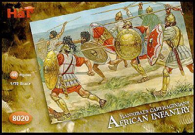 8020 - Infanterie africaine d'Hannibal 1/72