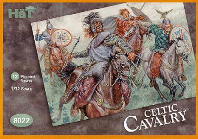 8022 - Cavalerie celte 1/72