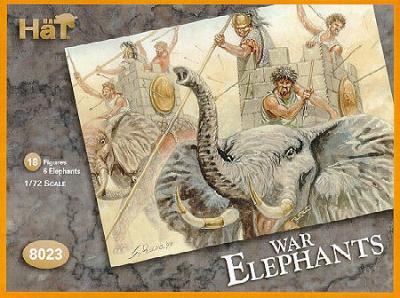 8023 - Eléphants de guerre carthaginois 1/72