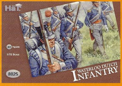 8025 - Infanterie hollandaise Waterllo 1/72