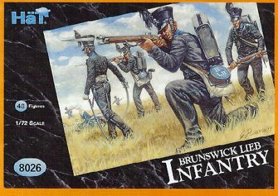 8026 - Brunswick Leib Infantry 1/72