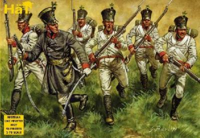 8027 - Infanterie autrichienne 1/72