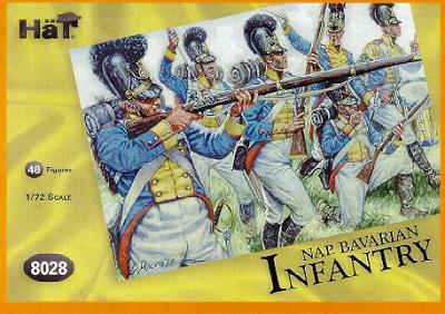 8028 - Infanterie bavaroise 1/72