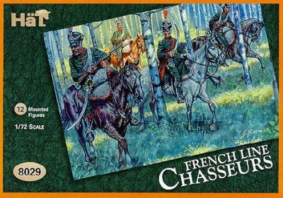 8029 - Chasseurs à cheval de ligne français 1/72