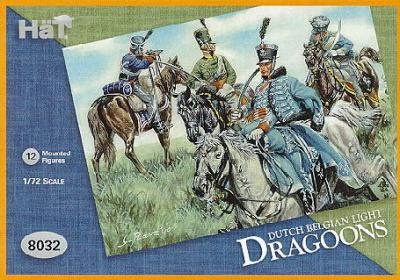 8032 - Dutch Belgian Light Dragoons 1/72