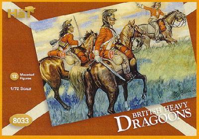 8033 - Dragons lourds anglais 1/72